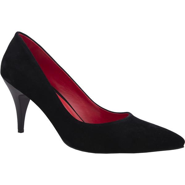 - Rvigo SİYAH SÜET R19Y 144 Stiletto Ayakkabı